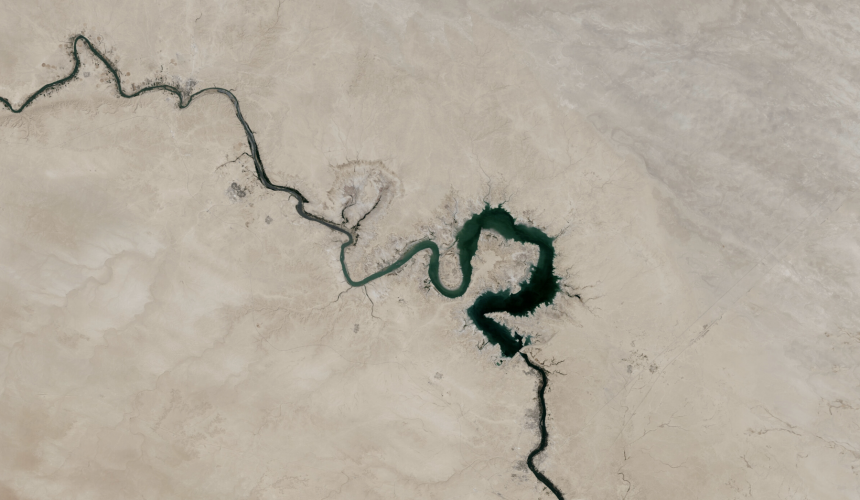 Lent: The river and the desert